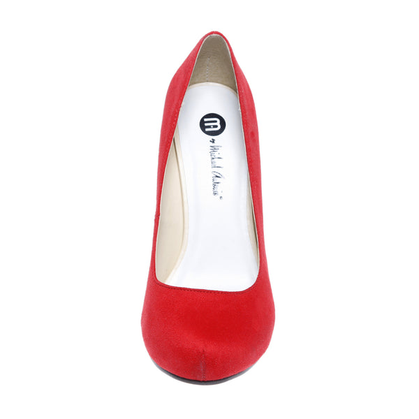 LOVEME-SUEDE-2 CHERRY RED