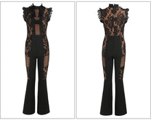 Load image into Gallery viewer, Fashion nova black lace bodysuit - Pynk Kandi