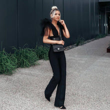 Load image into Gallery viewer, Black mesh jumpsuit - Pynk Kandi