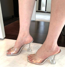 Load image into Gallery viewer, Miss Thang PVC Mules - Pynk Kandi
