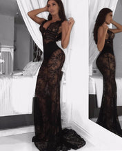 Load image into Gallery viewer, Revolve lace gown - pynk kandi