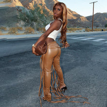 Load image into Gallery viewer, Split leather pants - Pynk Kandi