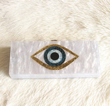 Load image into Gallery viewer, Evil Eye Clutch - Pynk Kandi