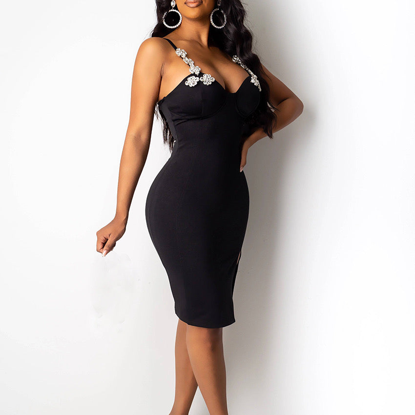 Black fashion nova dress - Pynk Kandi
