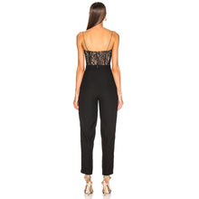 Load image into Gallery viewer, Revolve lace bustier jumpsuit - pynk Kandi