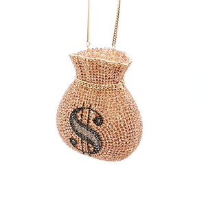 Judith leiber money clutch - Pynk Kandi