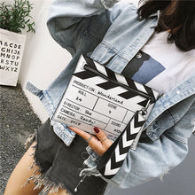 Load image into Gallery viewer, Clapper Board Clutch Bag - Pynk Kandi