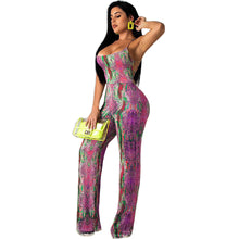 Load image into Gallery viewer, Summer Snake Print Jumpsuit - Pynk Kandi