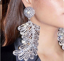 Load image into Gallery viewer, Large crystal earrings - Pynk Kandi