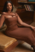 Load image into Gallery viewer, House of Cb brown bandage dress - Pynk Kandi