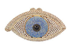 Load image into Gallery viewer, Elegant Evil Eye Clutch - Pynk Kandi