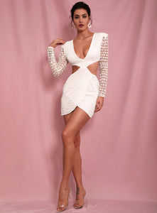 House of Cb white dress - Pynk Kandi