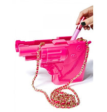 Load image into Gallery viewer, Acrylic gun pink Clutch - Pynk Kandi