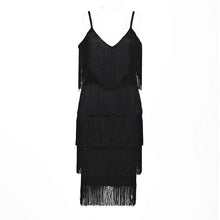 Load image into Gallery viewer, 20's Fringe Dress - Pynk Kandi