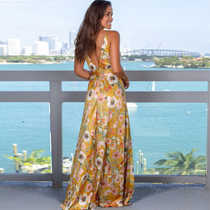 Sherry Golden Brown Gown