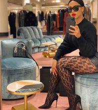Load image into Gallery viewer, Fendi black tights - Pynk Kandi
