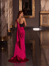 Load image into Gallery viewer, Pink and black gown - Pink Kandi