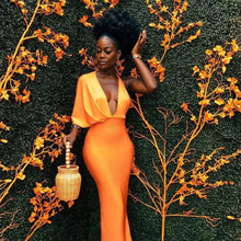 Load image into Gallery viewer, Orange gown - Pynk Kandi