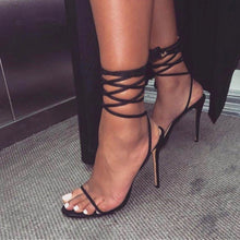 Load image into Gallery viewer, Jimmy choo Strappy Heels - Pynk Kandi