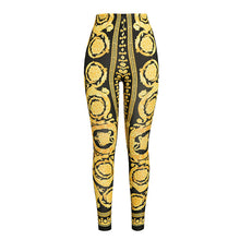 Load image into Gallery viewer, versace baroque leggings - Pynk Kandi