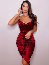 Load image into Gallery viewer, Wine red dress - Pynk Kandi