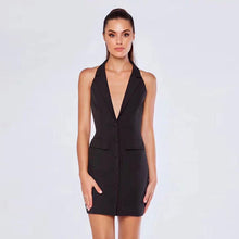 Load image into Gallery viewer, Pretty little thing tuxedo dress - Pynk Kandi