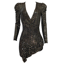 Load image into Gallery viewer, Gold sequin mini dress - Pynk Kandi
