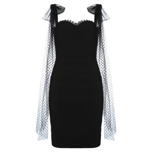 House of Cb black bodycon dress - Pynk Kandi
