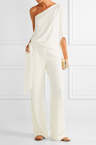 Off white jumpsuit - Pynk Kandi