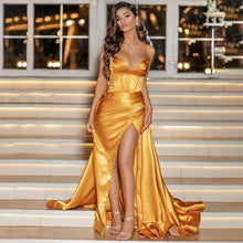 Load image into Gallery viewer, Yellow gown - Pynk Kandi