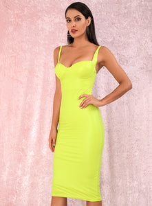 Fashion nova yellow dress - Pynk Kandi