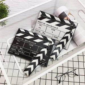 Clapper Board Clutch Bag - Pynk Kandi