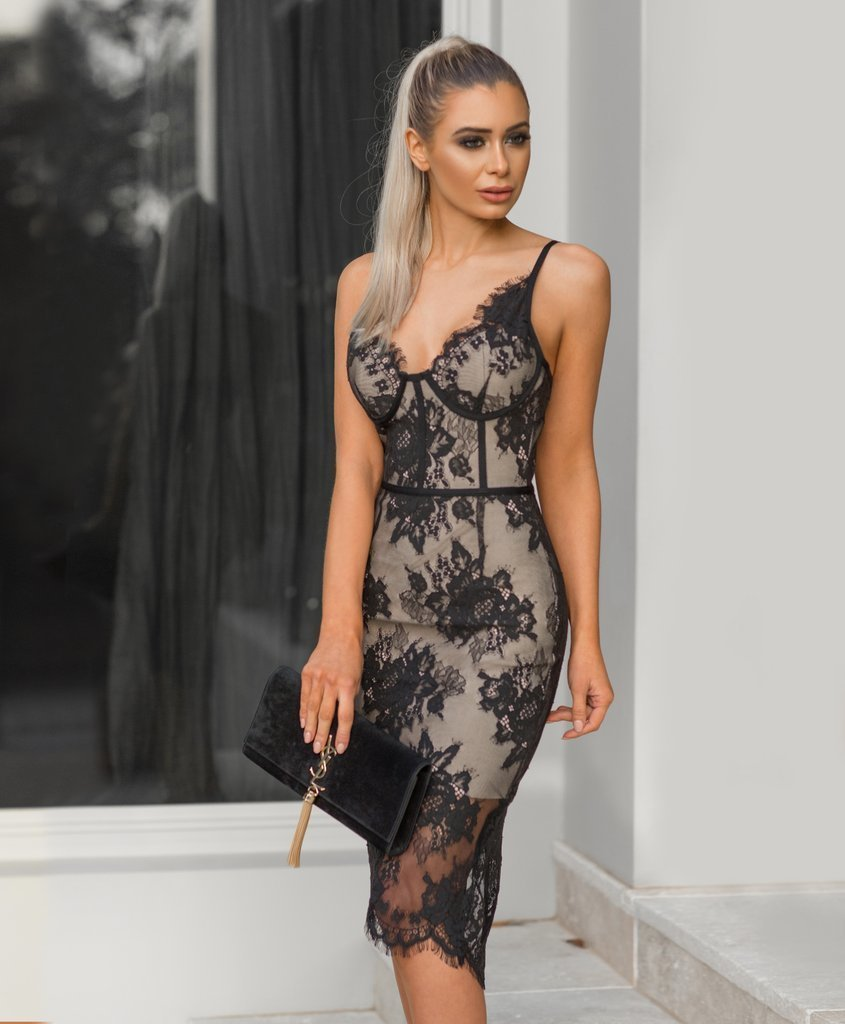 Fashion nova lace dress - Pynk Kandi