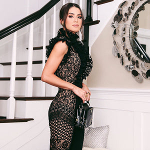 Fashion nova black lace bodysuit - Pynk Kandi