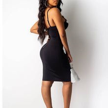 Load image into Gallery viewer, Black fashion nova dress - Pynk Kandi