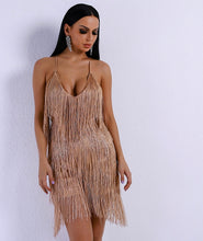 Load image into Gallery viewer, Fashion nova tassel romper - Pynk Kandi