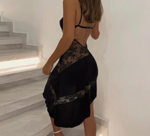 Load image into Gallery viewer, Black lace dress - Pynk Kandi