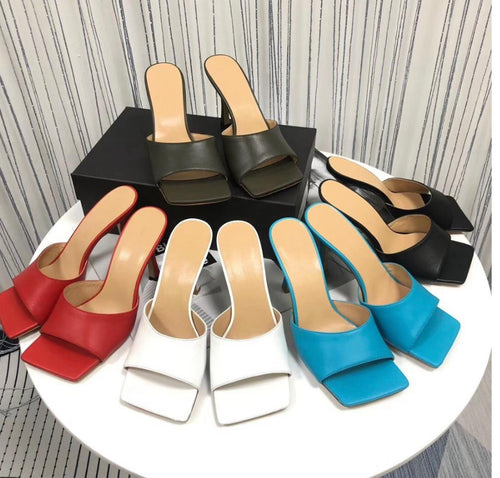 bottega veneta stretch sandals - Pynk Kandi