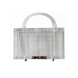 Transparent Clutch - Pynk Kandi