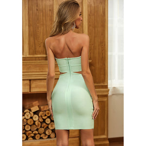 It's Meant To Be Mint Dress - Pynk Kandi