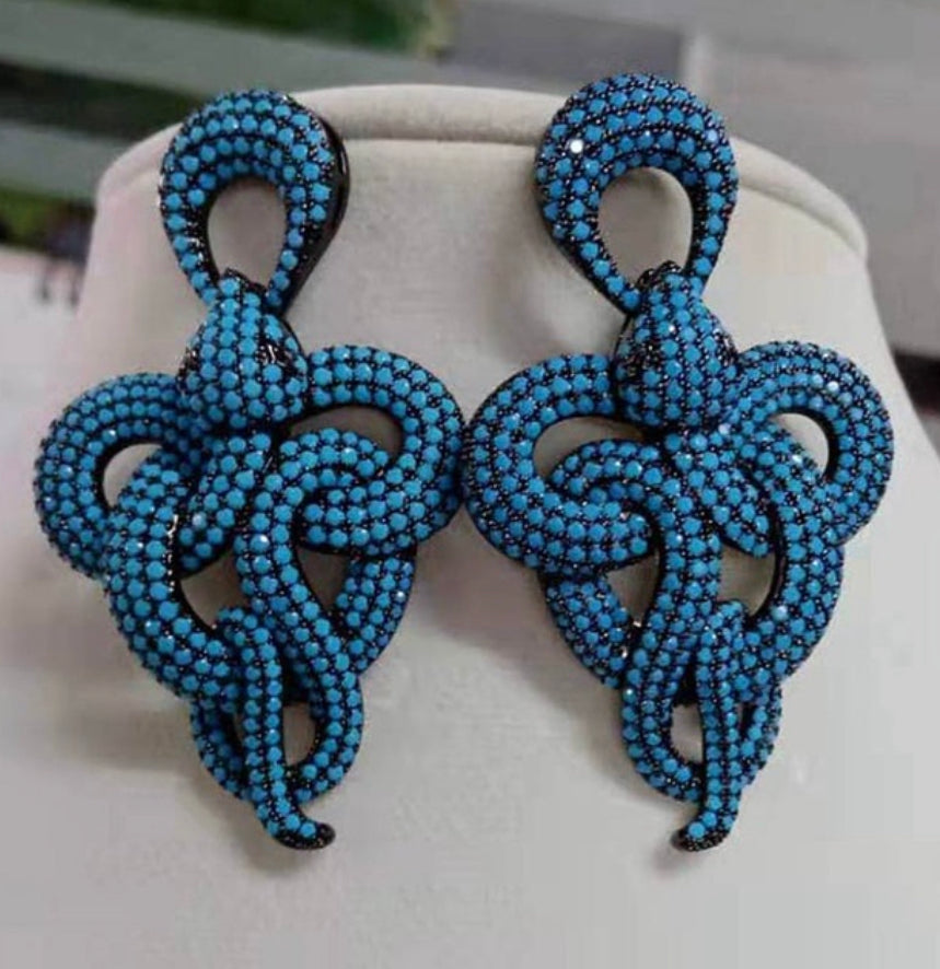 Snake earrings - Pynk Kandi