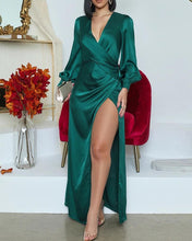 Load image into Gallery viewer, Long sleeve green gown - Pynk Kandi