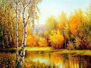 Autumn Colors 06 Diamond Painting Kit - Diamond Painting Corner