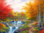 Autumn Colors 09 Diamond Painting Kit - Diamond Painting Corner
