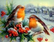 Birds 10 Diamond Painting Kit - Diamond Painting Corner