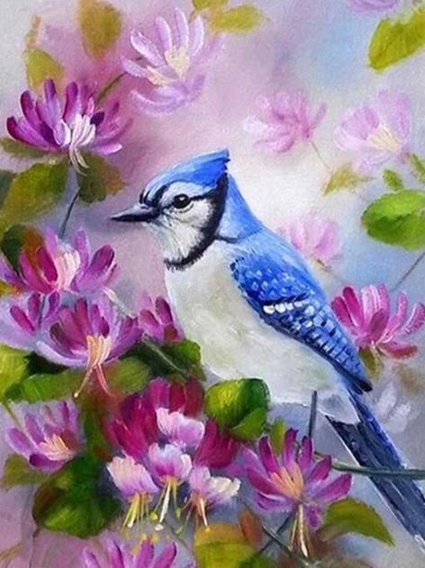 Birds 17 Diamond Painting Kit - Diamond Painting Corner