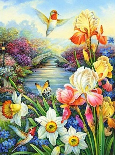 Birds 18 Diamond Painting Kit - Diamond Painting Corner