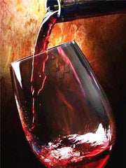 Bottle Serving Wine Diamond Painting Kit - Diamond Painting Corner