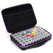 Carry Case Organizer with 60 Bottles - Diamond Painting Corner