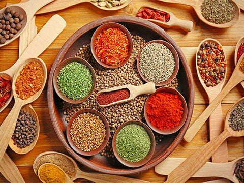 Colorful Kitchen Spices - Diamond Painting Corner